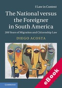 Cover of South American Citizenship and Migration Law: 200 Years of Migration and Citizenship La (eBook)
