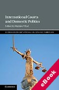 Cover of International Courts and Domestic Politics (eBook)