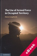 Cover of The Use of Armed Force in Occupied Territory (eBook)
