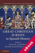 Cover of Great Christian Jurists in Spanish History (eBook)