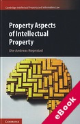 Cover of Property Aspects of Intellectual Property (eBook)