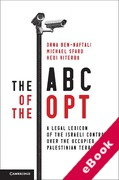 Cover of The ABC of the OPT: A Legal Lexicon of the Israeli Control over the Occupied Palestinian Territory (eBook)