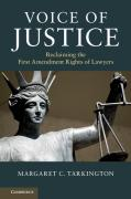 Cover of Voice of Justice: Reclaiming the First Amendment Rights of Lawyers