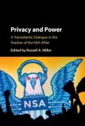Cover of Privacy and Power: A Transatlantic Dialogue in the Shadow of the NSA-Affair