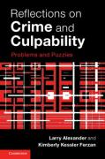 Cover of Reflections on Crime and Culpability: Problems and Puzzles