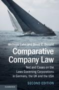 Cover of Comparative Company Law: Text and Cases on the Laws Governing Corporations in Germany, the UK and the USA