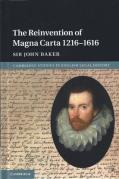 Cover of The Reinvention of Magna Carta 1216-1616