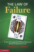 Cover of The Law of Failure: Business Insolvency in America