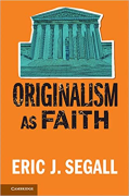 Cover of Originalism as Faith