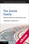 Cover of The Jewish Family: Between Family Law and Contract Law (eBook)
