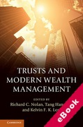 Cover of Trusts and Modern Wealth Management (eBook)