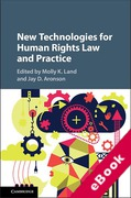 Cover of New Technologies for Human Rights Law and Practice (eBook)