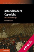Cover of Art and Modern Copyright: The Contested Image (eBook)