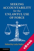 Cover of Seeking Accountability for the Unlawful Use of Force (eBook)