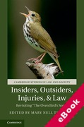 Cover of Insiders, Outsiders, Injuries, and Law: Revisiting 'The Oven Bird's Song' (eBook)