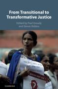 Cover of From Transitional to Transformative Justice