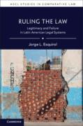 Cover of Ruling the Law: Legitimacy and Failure in Latin American Legal Systems