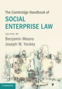 Cover of The Cambridge Handbook of Social Enterprise Law