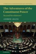 Cover of The Adventures of the Constituent Power: Beyond Revolutions?