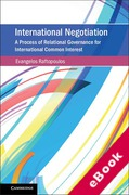 Cover of International Negotiation: A Process of Relational Governance for International Common Interest (eBook)