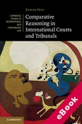 Cover of Comparative Reasoning in International Courts and Tribunals (eBook)