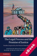 Cover of The Legal Process and the Promise of Justice: Studies Inspired by the Work of Malcolm Feeley (eBook)
