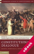 Cover of Constitutional Dialogue: Rights, Democracy, Institutions (eBook)