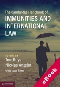 Cover of The Cambridge Handbook of Immunities and International Law (eBook)