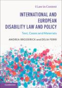 Cover of International and European Disability Law and Policy: Text, Cases and Materials