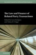 Cover of The Law and Finance of Related Party Transactions