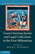 Cover of Great Christian Jurists and Legal Collections in the First Millennium