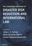 Cover of The Cambridge Handbook of Disaster Risk Reduction and International Law