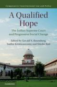 Cover of A Qualified Hope: The Indian Supreme Court and Progressive Social Change