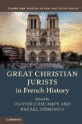 Cover of Great Christian Jurists in French History