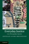 Cover of Everyday Justice: Law, Ethnography, Injustice