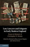 Cover of Law, Lawyers and Litigants in Early Modern England: Essays in Memory of Christopher W. Brooks