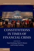 Cover of Constitutions in Times of Financial Crisis