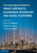 Cover of The Cambridge Handbook of Smart Contracts, Blockchain Technology and Digital Platforms