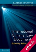 Cover of International Criminal Law Documents (eBook)