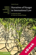 Cover of Narratives of Hunger in International Law: Feeding the World in Times of Climate Change (eBook)