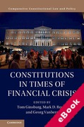 Cover of Constitutions in Times of Financial Crisis (eBook)