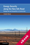 Cover of Energy Security along the New Silk Road: Energy Law and Geopolitics in Central Asiaitics in Central Asia (eBook)