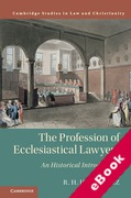 Cover of The Profession of Ecclesiastical Lawyers: An Historical Introduction (eBook)