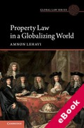 Cover of Property Law in a Globalizing World (eBook)