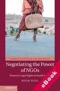 Cover of Negotiating the Power of NGOs: Women's Legal Rights in South Africa (eBook)
