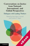 Cover of Conversations on Justice from National, International, and Global Perspectives: Dialogues with Leading Thinkers (eBook)