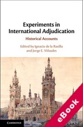 Cover of Experiments in International Adjudication: Historical Accounts (eBook)