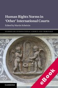 Cover of Human Rights Norms in `Other' International Courts (eBook)