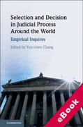 Cover of Selection and Decision in Judicial Process Around the World: Empirical Inquires (eBook)