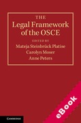 Cover of The Legal Framework of the OSCE (eBook)
